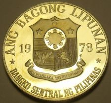 Buy Philippines 1978 Piso Proof~Rare~Only 4,872 Minted~Jose Rizal~Free Shipping