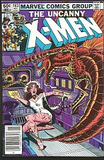 Buy Uncanny X-MEN #163 MarvelComics1982 VF NEWSTAND VARIANT 1st series BROOD Cockrum