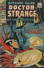 Buy Strange Tales #168 DR. STRANGE Adkins Marvel Comics Silver Age Steranko SHIELD