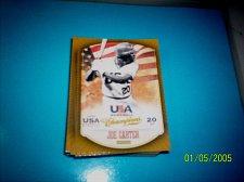 Buy JOE CARTER #4 2013 Panini USA Champions Gold Boarder Card FREE SHIP
