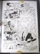 Buy Original Comic Art XenoBrood Issue 5 Page 22 DC 1995 ComicArt Chris Hunter