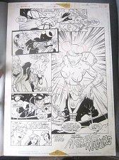 Buy Original Comic Art XenoBrood Issue 5 Page 22 DC 1995 ComicArt Chris Hunter
