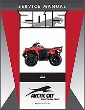 Buy 2014-2015 Arctic Cat 400 ATV Service Repair Workshop Manual CD