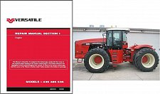 Buy Versatile 435 485 535 Tractor Service Repair Manual CD