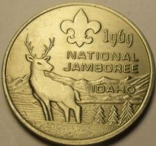Buy Gem Unc Boy Scouts National Jamboree 1964 Medallion~Farragut Park Idaho~Fr/Ship