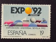 Buy Spain 1987 Mi 2758 1v used Stamp EXPO '92. The Age of Discoveries