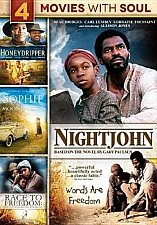Buy 4movie DVD Honey Dripper,NightJohn,Patricia RICHARDSON Lynn WHITFIELD Dan GLOVER