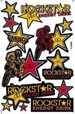Buy 1 sheet New stickers/decals Rockstar Energy Motocross ATV Racing Freeshipping 03
