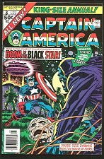 Buy CAPTAIN AMERICA ANNUAL #3 VF/ 1976 JACK KIRBY ART Marvel Comics Whole Story