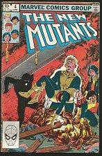 Buy The NEW MUTANTS #4 Claremont +S. Buscema 1st print & series MARVEL COMICS 1983