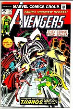 Buy Avengers 125 VG range 1974 THANOS Guardians of the Galaxy