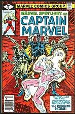 Buy Marvel Spotlight on Captain Marvel #2 Moench 1979 VF Guardians of the Galaxy