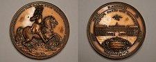 Buy Germany - Ludwig Wilhelm Margrave of Baden Commemorative Medal - 50mm