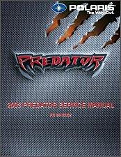 Buy 2003 Polaris Predator 500 Service Repair Workshop Manual CD
