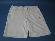 Buy Ralph Lauren Polo Knit Drawstring Workout Shorts Mens Sz L White NWT $50