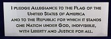 Buy Pledge Of Allegiance Stencil -14 mil Mylar Painting/Crafts
