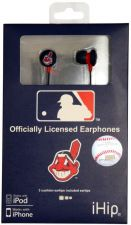 Buy MLB Cleveland Indians Printed Ear Buds, iHip