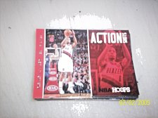 Buy 2013-14 Hoops Action Shots Trail Blazers Basketball Card #19 Damian Lillard free