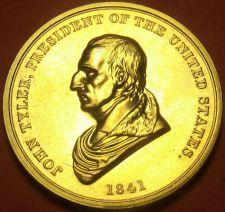 Buy Gem Unc John Tyler Presidential Bronze Inauguration Medallion~Free Shipping