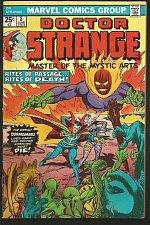 Buy Dr. Strange #8 Marvel Comics GENE COLAN, Palmer 1975 VF+/NM-