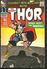 Buy THOR #125 Stan Lee Jack Kirby 1966 Marvel Comics