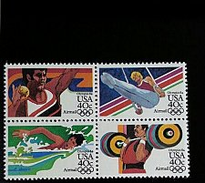 Buy 1983 40c Summer Olympics, Block of 4 Scott C105-8 Mint F/VF NH