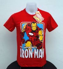 Buy Iron man Red Cotton T-Shirt The Avengers Super Hero Marvel Free Shipping