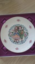 Buy ROYAL DOULTON 1981 VALENTINES DAY PLATE