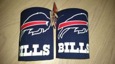 Buy (2) Buffalo Bills Round Can Coolers Coolie Koozie Neoprene New (405)