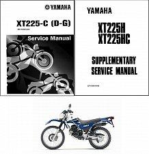 Buy 1986-2007 Yamaha XT225 Service Manual on a CD