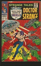 Buy STRANGE TALES #153 DR STRANGE / SHIELD Jack Kirby RoyThomas/STERANKO Comics '66