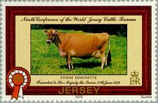Buy Jersey 2V MNH STAMP SET 1979 Cow Mi 196-97