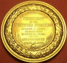 Buy Gem Unc Abraham Lincoln Presidential Bronze Inauguration Medallion~Free Shipping