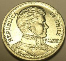 Buy Chile 1958 Peso Unc~Rare~29,900 Minted*