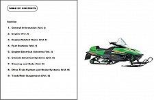 Buy 2000 Arctic Cat Snowmobiles Service Repair Manual CD Z ZL ZR ZRT Panther Powder