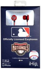 Buy MLB Washington Nationals Printed Ear Buds, iHip