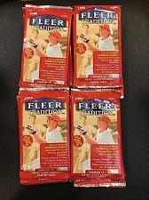 Buy 4 new baseball PACKs 1999 FLEER TRADITION HOBBY Stan MUSIAL Derek JETER