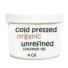 Buy Extra Virgin Certified Organic Coconut Oil For Oil Pulling Cold Pressed 8oz Jar