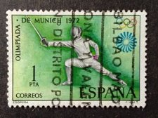 Buy Spain 1v used SCOTT: 1725 STAMP 1972 XX Juegos Olimpicos de Munich