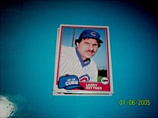 Buy 1981 Topps BASEBALL CARD OF LARRY BITTNER #718 MINT FREE SHIPPING