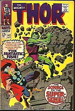 Buy THOR #142 VF Stan Lee & Jack Kirby Marvel Comics 1967 1st Print & series