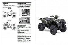 Buy 2008-12 Suzuki LT-A750X / LT-A750XP KingQuad 750 AXi ATV Service Manual on a CD