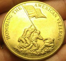 Buy Honoring The American Veteran Preserving American Freedom Bronze Medallion 39mm