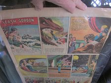 Buy Sunday Newspaper Comics: FLASH GORDON March 26, 1950 BEAUTIFUL Raboy Don Moore