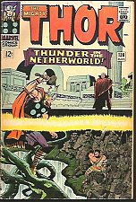 Buy THOR #167 Silver Age Stan Lee & Jack Kirby Marvel Comics 1966 1st Print & series