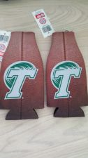 Buy Tulane Green Wave Football Zipper Bottle Koozie BUY 1, GET 1 FREE! (405)