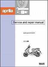 Buy 1997-2015 Aprilia SR50 Scooter Service Manual on a CD -- SR 50