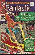 Buy Fantastic Four Annual #4 Jack Kirby original Human Torches Stan Lee 1966 Sinnott