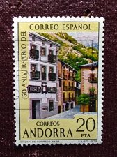 Buy Andorra Spanish 1978 iv stamp The 50th Anniversary of the Postal Service