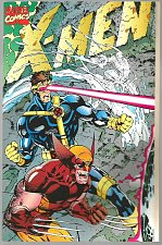 Buy X-MEN #1 Green Thicker Deluxe Format All folios & fold out covers WOLVERINE '91